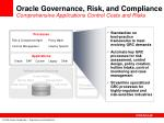 oracle governance risk and compliance comprehensive applications control costs and risks
