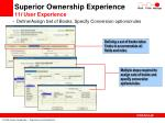 superior ownership experience 11 i user experience