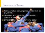 emotions in teams