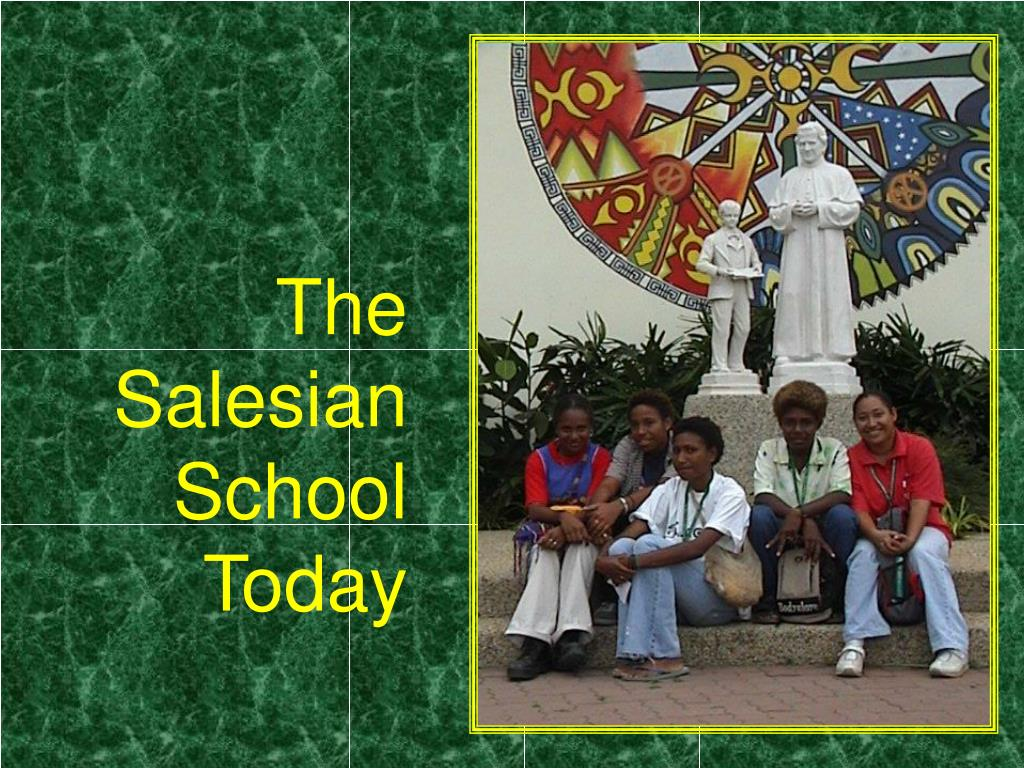 the salesian school today l.