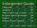 endangerment causes