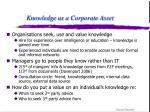 knowledge as a corporate asset6