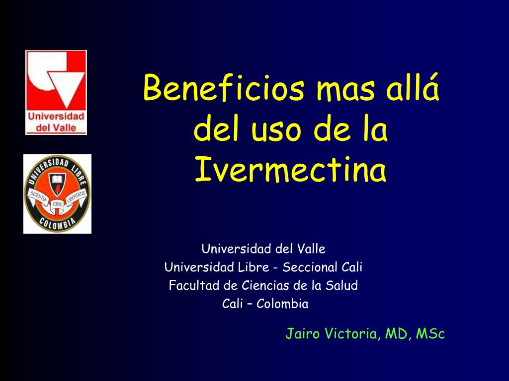 beneficios mas all del uso de la ivermectina l.