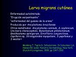 larva migrans cut nea
