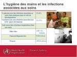 l hygi ne des mains et les infections associ es aux soins