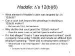 haddle s 12 b 6