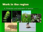 work in the region14