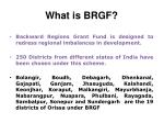 what is brgf