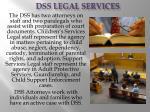 dss legal services