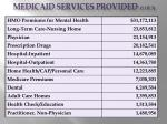 medicaid services provided 1 of 3