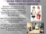 work first benefits and employment services44