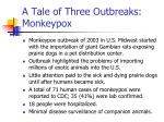 a tale of three outbreaks monkeypox