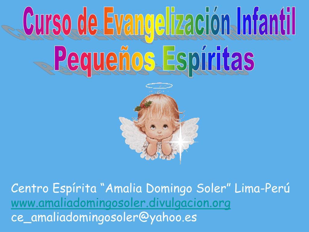 Curso de Evangelización Infantil