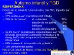 autismo infantil y tgd42