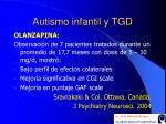 autismo infantil y tgd44