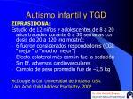 autismo infantil y tgd46
