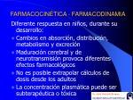 farmacocin tica farmacodinamia
