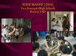 judy magee 2004 vice principal high school benicia usd