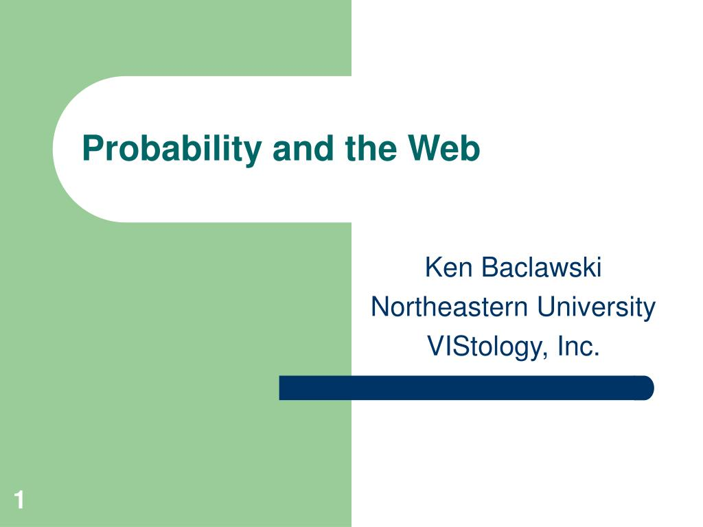 probability and the web l.