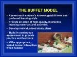 the buffet model