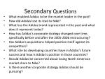 secondary questions