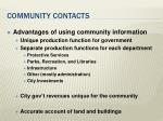 community contacts14