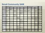small community sam