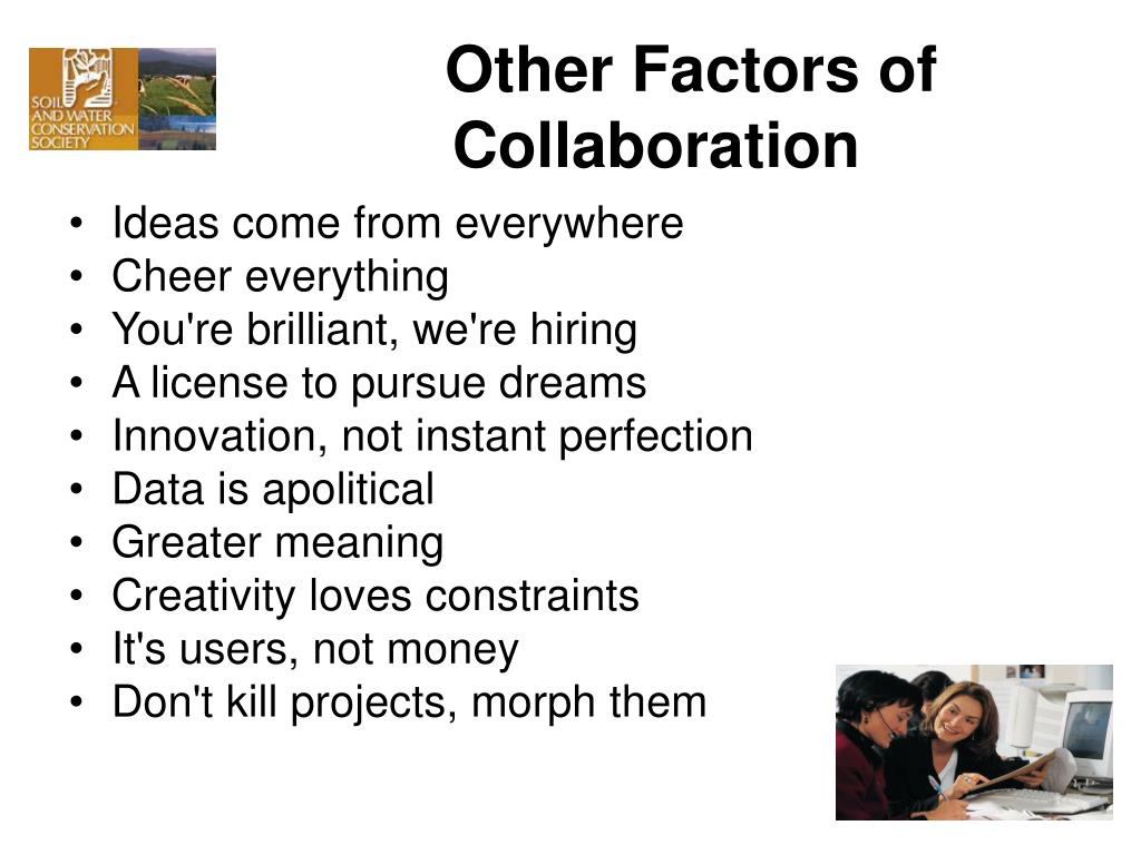 Other Factors of Collaboration