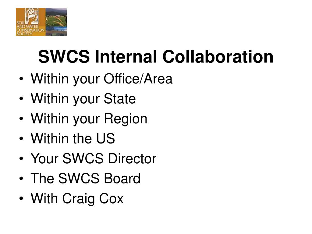 SWCS Internal Collaboration
