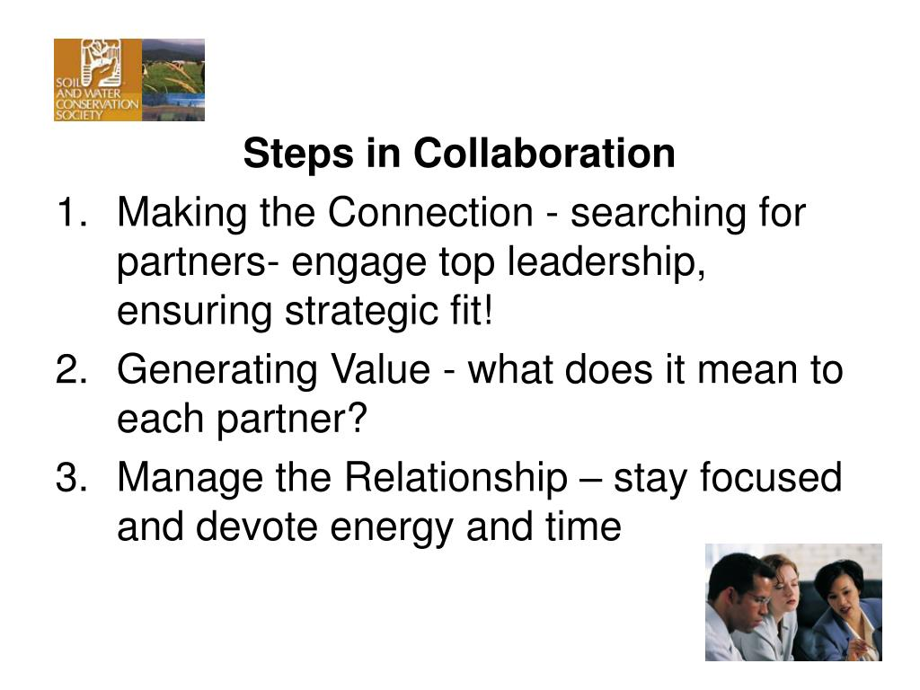 Steps in Collaboration