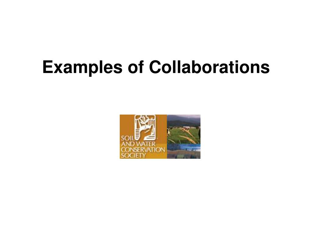 Examples of Collaborations