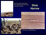 dixie harrow