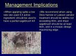 management implications22