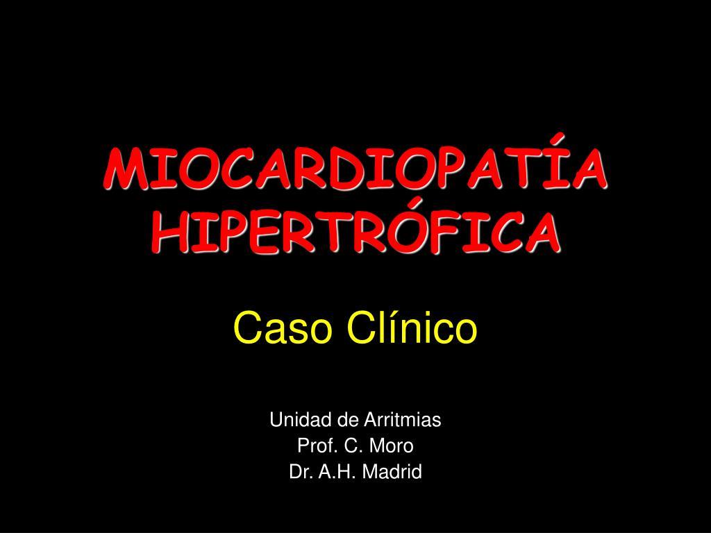 miocardiopat a hipertr fica l.
