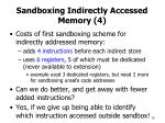 sandboxing indirectly accessed memory 4