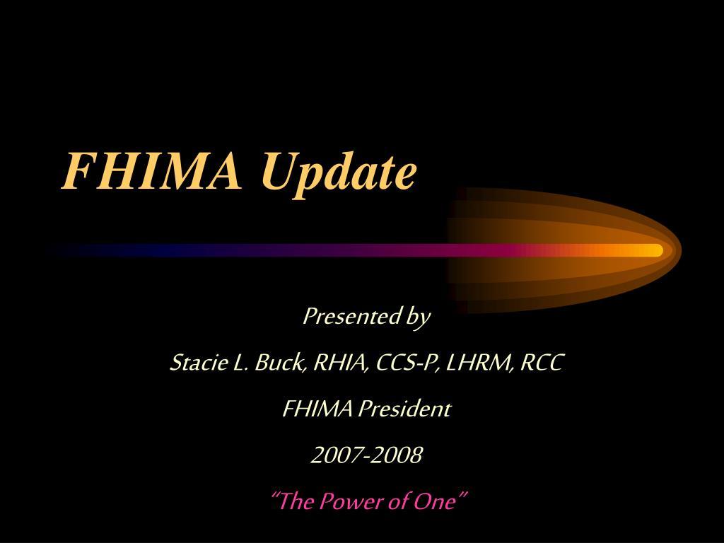 fhima update l.