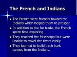 the french and indians