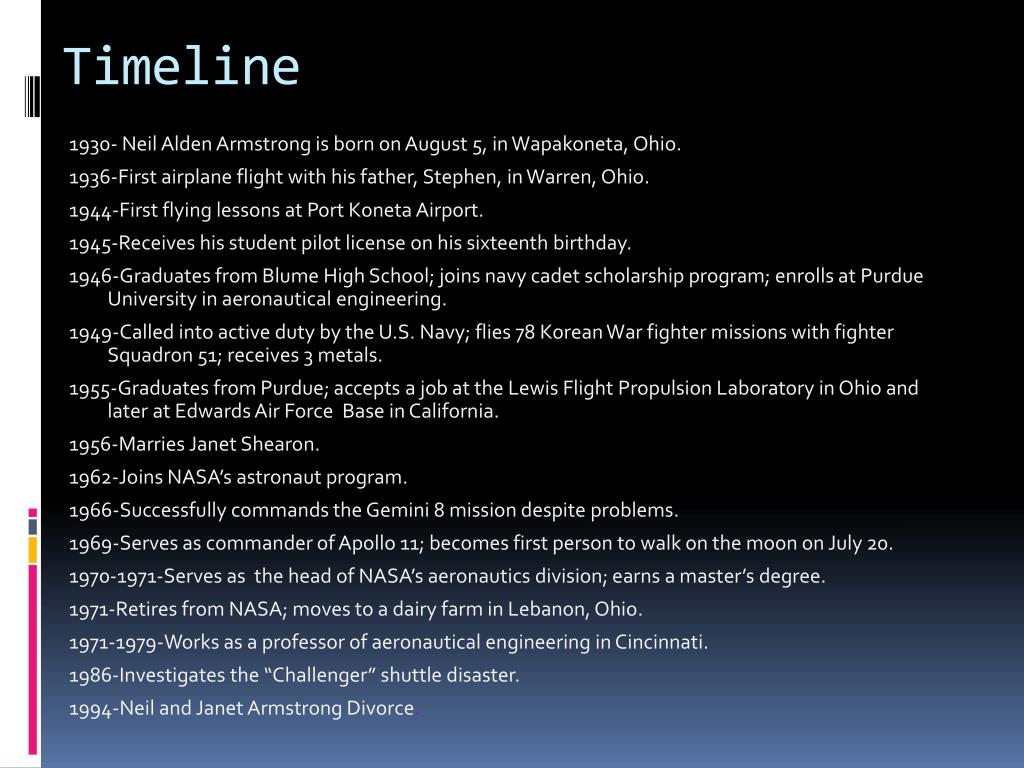 PPT - Neil Armstrong PowerPoint Presentation - ID:530739