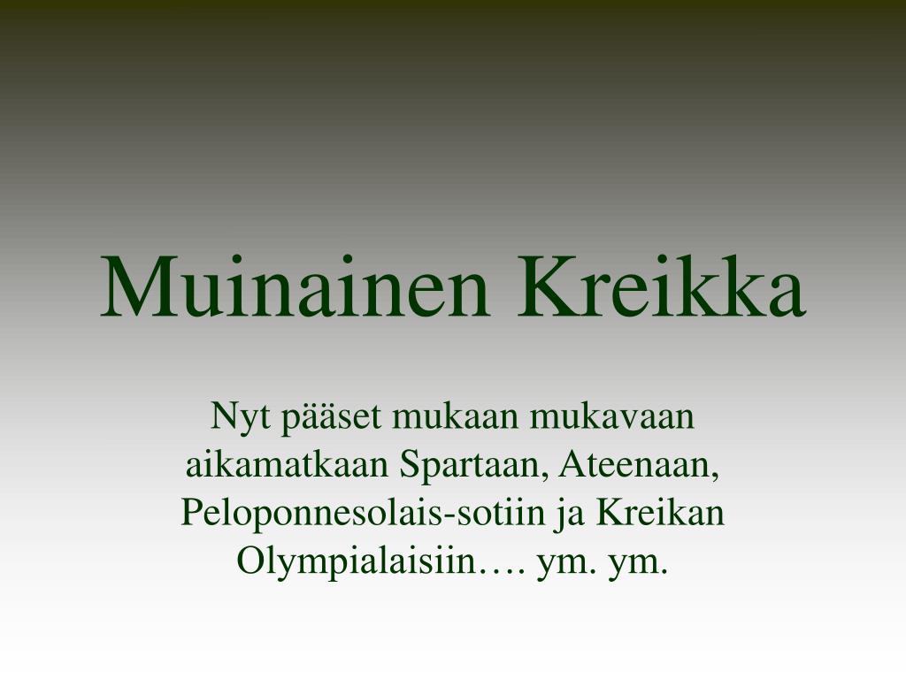 muinainen kreikka l.