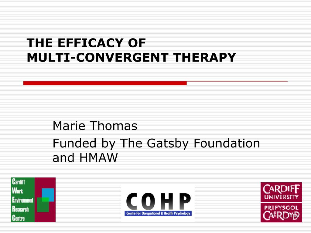 the efficacy of multi convergent therapy l.