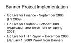 banner project implementation26