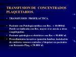 transfusion de concentrados plaquetarios22
