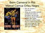 beim carneval in rio marcel camus orfeu negro