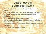 joseph haydns l anima del filosofo