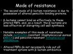 mode of resistance11
