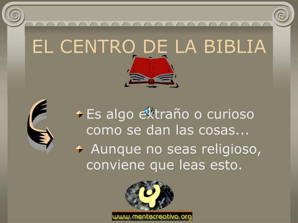el centro de la biblia l.