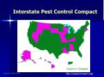 interstate pest control compact