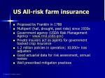 us all risk farm insurance