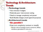 technology architecture trends