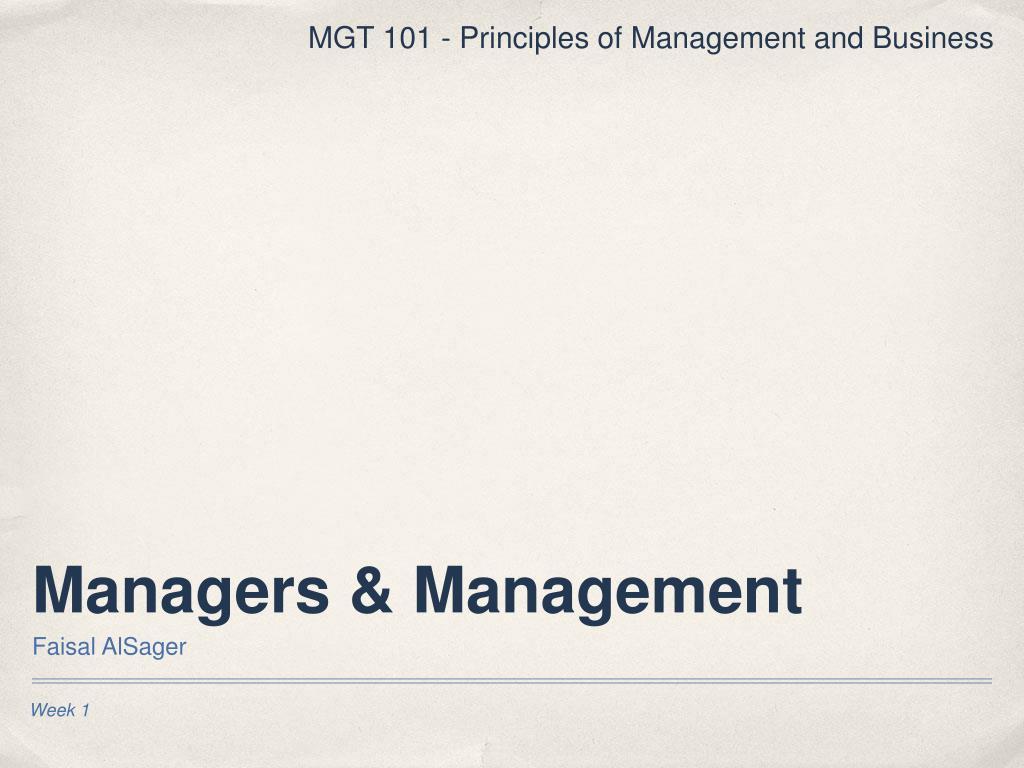 managers management l.